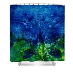 Midnight Angel Shower Curtain