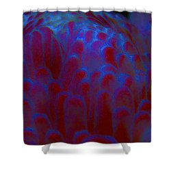 Midnight Bloom Shower Curtain