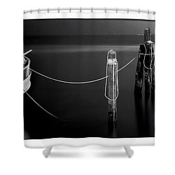 Midnight Calm Shower Curtain