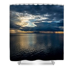 Midnight Majesty Shower Curtain by Andrew Matwijec