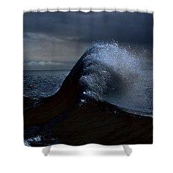 Midnight Swim Shower Curtain