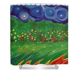 Midsummer By Jrr Shower Curtain by First Star Art