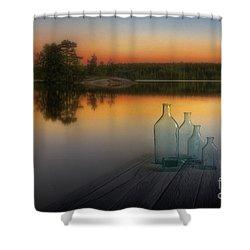 Midsummer Magic Shower Curtain by Veikko Suikkanen