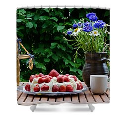 Midsummer Table Shower Curtain