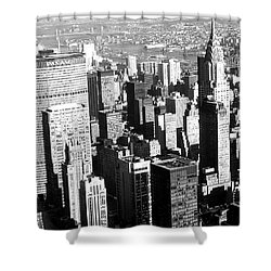 Midtown Manhattan 1972 Shower Curtain