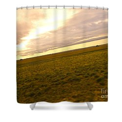 Midwest Slanted Shower Curtain