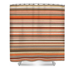 Midwestern Flair Shower Curtain by Lourry Legarde