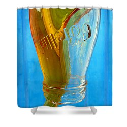 Miel Shower Curtain by Skip Hunt