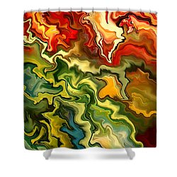 Migdaya By Rafi Talby Shower Curtain by Rafi Talby
