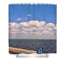 Mile 22 Shower Curtain