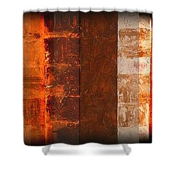 Milestones Shower Curtain