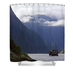 Milford Sound Shower Curtain