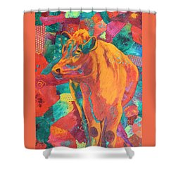 Milk Delivery Shower Curtain