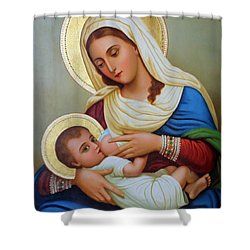 Milk Grotto Artwork Shower Curtain