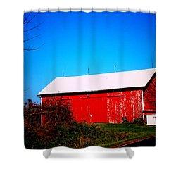 Milk House And Barn Shower Curtain