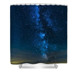 Milky Way Cherry Springs Shower Curtain