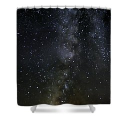 Milky Way Shower Curtain by Marlo Horne