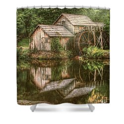 Mill On The Blue Ridge  Shower Curtain