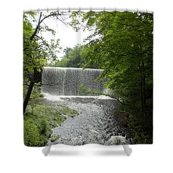 Mill River Shower Curtain