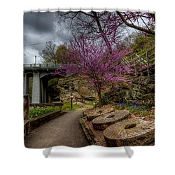Mill Stones Shower Curtain