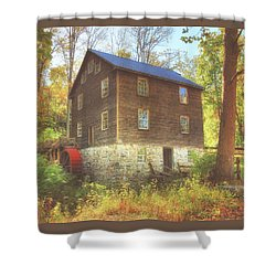 Millbrook Grist Mill  Shower Curtain