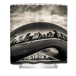 Millenium Bean  Shower Curtain