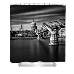 Millennium Bridge Shower Curtain