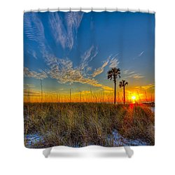 Miller Time Shower Curtain by Marvin Spates