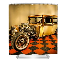 Millers Chop Shop 1929 Dodge Victory Six After Shower Curtain