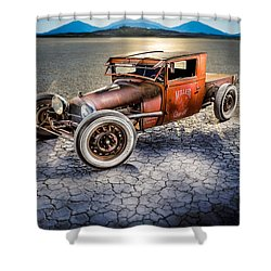 Millers Chop Shop 1929 Model A Truck Shower Curtain