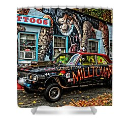 Milltown's Edsel Comet Shower Curtain