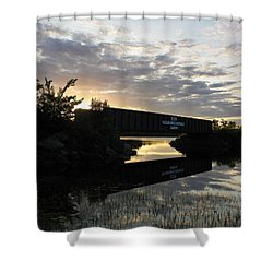 Milo Town Of Three Rivers Shower Curtain