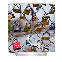 Mimi And Cloclo Shower Curtain