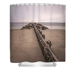 Mind Excursion Shower Curtain by Evelina Kremsdorf