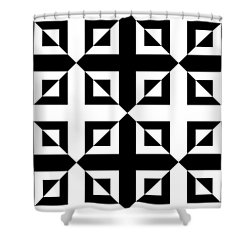 Mind Games 42 Se Shower Curtain