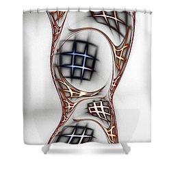 Mind Games Shower Curtain by Anastasiya Malakhova