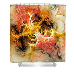 Mind Over Matter Shower Curtain by Anastasiya Malakhova