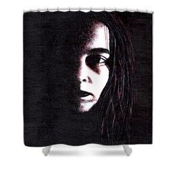 Mindbleeding Shower Curtain