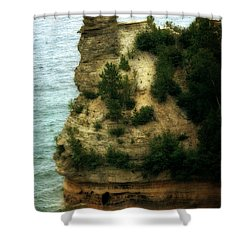 Miner's Castle 2.0 Shower Curtain