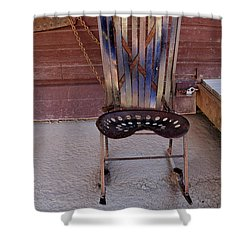 Shower Curtain featuring the photograph Miner's Rocker by Fran Riley