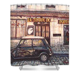 Mini De Montmartre Shower Curtain
