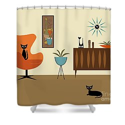 Mini Gravel Art 3 Shower Curtain