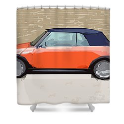 Mini Makeover Shower Curtain by Bruce Stanfield
