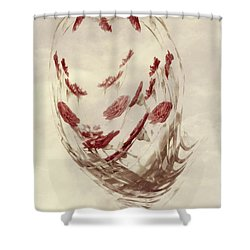 Mini Mum Art Bouquet Shower Curtain