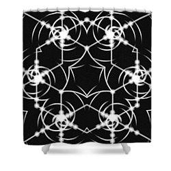 Minimal Life Vortex Shower Curtain