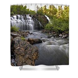 Mink Falls Shower Curtain
