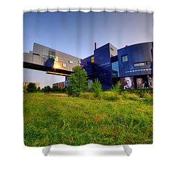 Minneapolis Guthrie Theater Summer Evening Shower Curtain