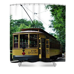Minnesota Streetcar Museum Shower Curtain
