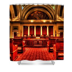 Minnesota Supreme Court Shower Curtain by Amanda Stadther