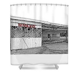 Minnow Shack Shower Curtain